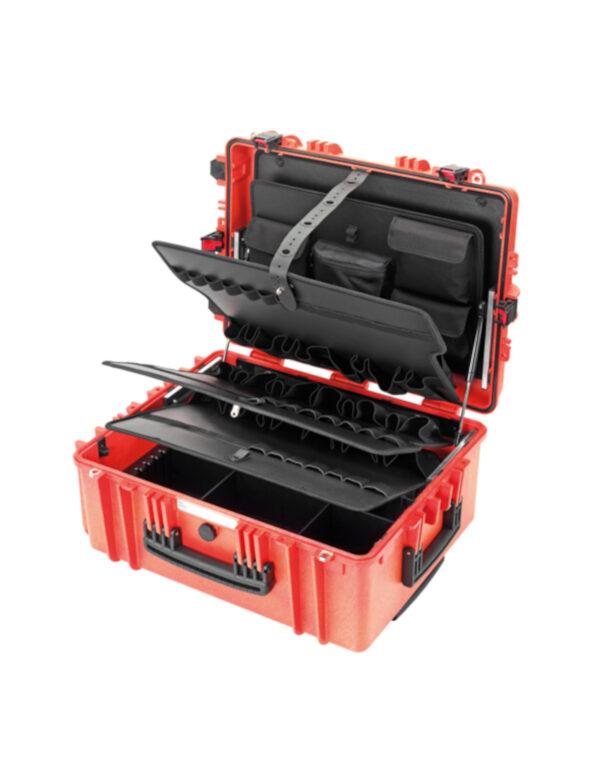 Σκληρή θήκη εργαλείων Gigant Trolley κόκκινο CIMCO 170096