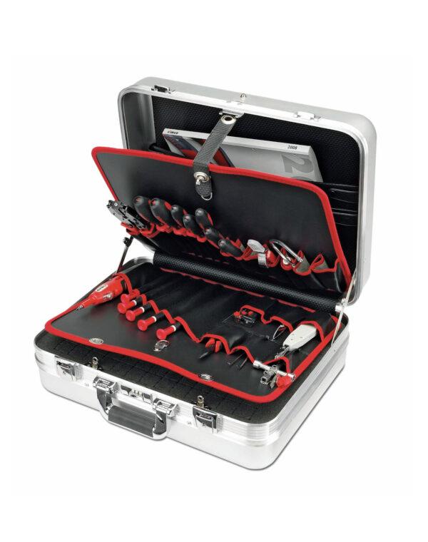 Σκληρή θήκη με εργαλεία πλήρης Alu Deluxe CIMCO 173210