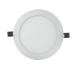 Χωνευτό Στρογγυλό Panel LED 17W 3000K Θερμό Λευκό Slim Alu 1350lms Τρύπα 18mm LEDVANCE/OSRAM 4058075063921