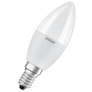 LED Retrofit 5.5W E14 CLAS B Κερί Frosted 2700K Με Τηλεχειριστήριο/Remote 470lms LEDVANCE/OSRAM 4058075144309