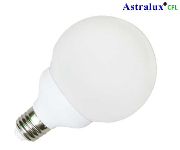 Λάμπα Οικονομίας Sphaera 120 28W Ε27 Globe Ψυχρό Λευκό 6400Κ