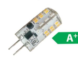 Λάμπα Led SMD G4 12V 2W Plus με Σιλικόνη