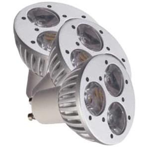 Λάμπα Led 3X1W GU10 High Power 6-6.500K