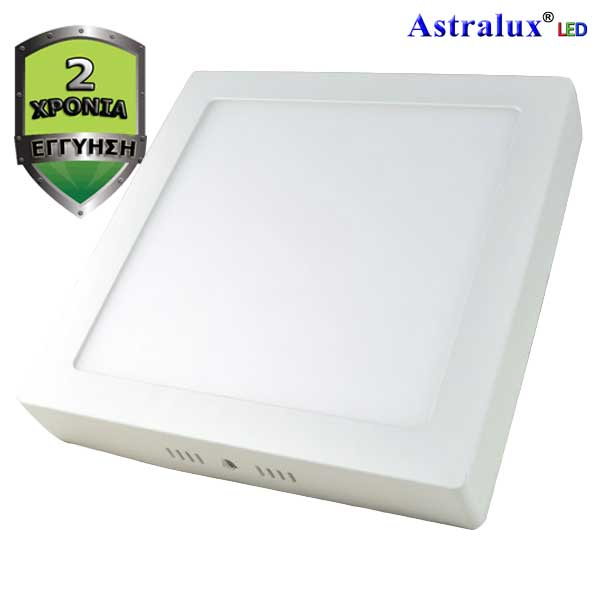 029580200/DL-295-LED Πάνελ Οροφής ή Επίτοιχο Τετράγωνο Φωτιστικό 6500K 18W