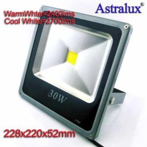 Προβολέας LED Στεγανός Premium 30W IP66