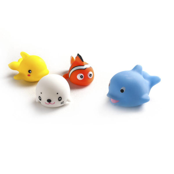 55197102-0041-Heitech 04000047 Ψαράκια με LED για το μπάνιο