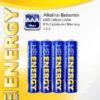 5519710-0012-Heitech 04002075 Αλκαλικές μπαταρίες 4 τμχ Micro AAA