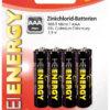 5519710-0027-Heitech 04002130 Μπαταρίες Zinc Carbon 8 τμχ AAΑ 1.5 V