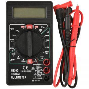 Heitech 04002219 Ψηφιακό πολύμετρο με οθόνη και buzzer