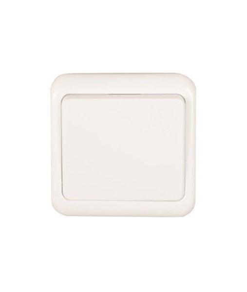 55197100-0001-Heitech 04002339 Διακόπτης μονός λευκός