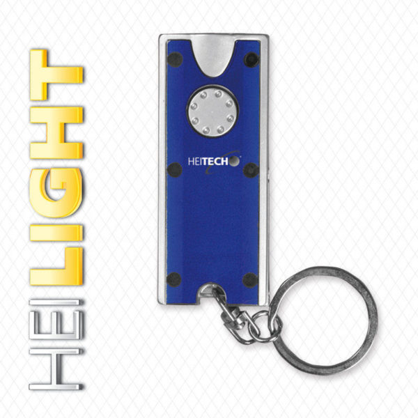 55197102-0030-Heitech 04002640 Φακός μπρελόκ κλειδιών με 2 LED
