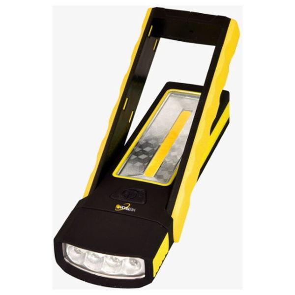 55197102-0039-Heitech 04003464 Φακός 2 σε 1 με 4 LED