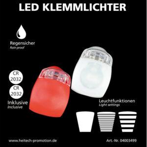 55197102-0058-Heitech 04003499 Σετ LED φώτα αδιάβροχα ποδηλάτου λευκό – κόκκινο