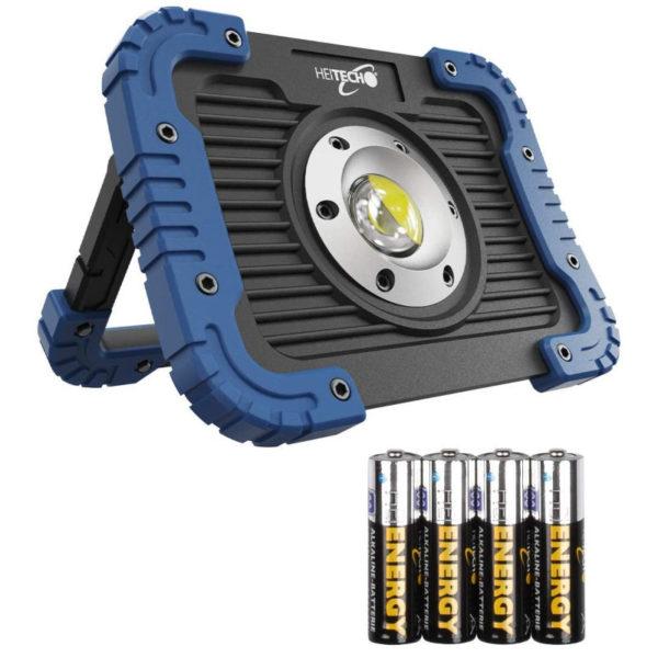 55197102-0050-Heitech 04003641 Ανθεκτικός φακός συνεργείου με COB LED 5 W