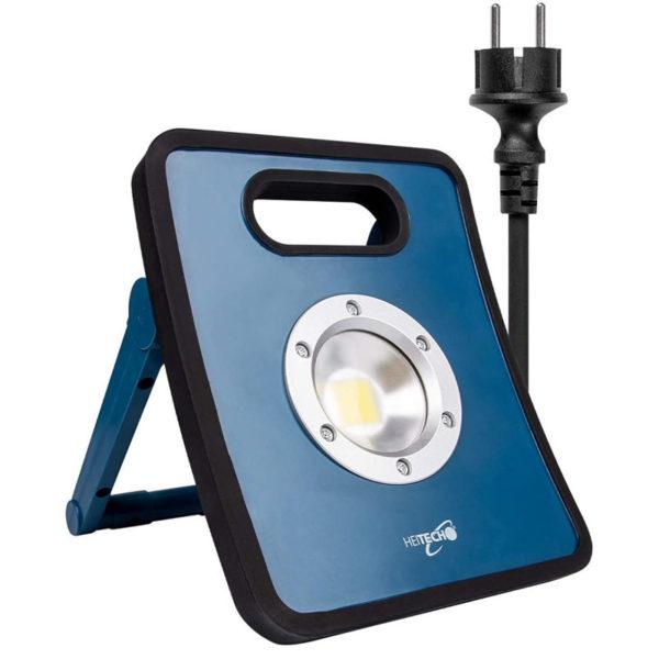 55197102-0052-Heitech 04003645 Aδιάβροχος φακός συνεργείου με COB LED 30 W