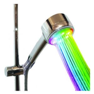 LED Ντουζιέρα -Τηλέφωνο RGB