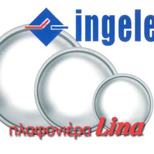 Πλαφονιέρα Οροφής Lina IP54 E27