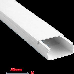 Κανάλι Eco 40x16mm Απλό