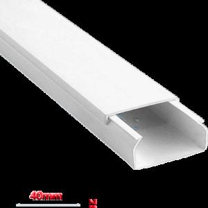 Κανάλι Eco 40x25mm Απλό