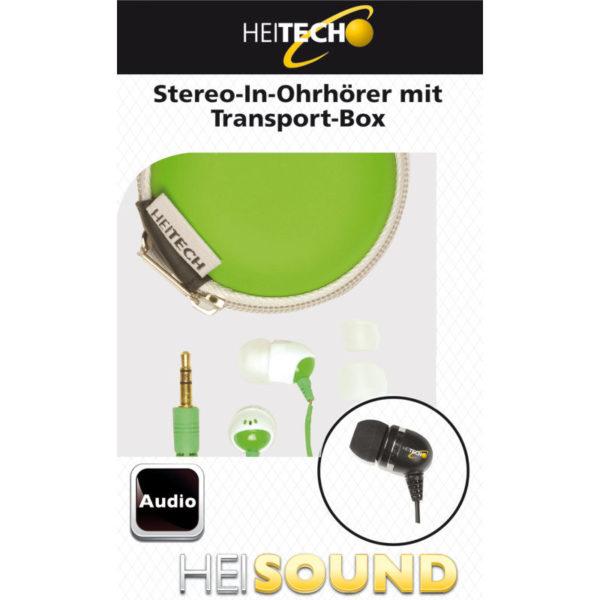 5519791-0022-Heitech 09001394 In Ear ακουστικά με θήκη μεταφοράς