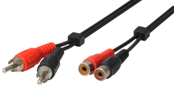 55197100-0031-Heitech 09004021 Καλώδιο προέκτασης RCA 1.5 m