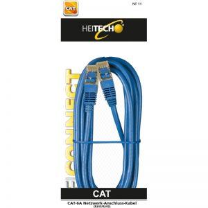 Heitech 09004115 Καλώδιο δικτύου Cat-6a RJ45 σε RJ45 3 m
