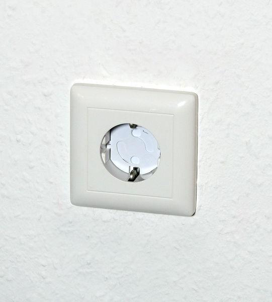 551106106-0034-Olympia H&H KS 10 Προστατευτικά πρίζας λευκά 10 τμχ