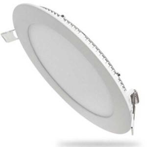 Πάνελ Χωνευτό Στρογγυλό Φωτιστικό LED Οροφής 6000K Λευκό 20W