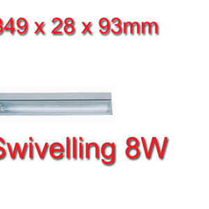 Φωτιστικό Φθορισμού Κινητό 8W για Έπιπλα