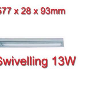 Φωτιστικό Φθορισμού Κινητό 13W για Έπιπλα
