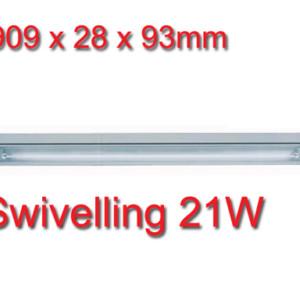 Φωτιστικό Φθορισμού Κινητό 21W για Έπιπλα