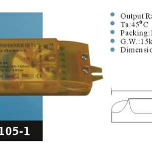 Ηλεκτρονικός Μετασχηματιστής 105W