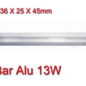 Φωτιστικό Επίπλων Φθορισμού 13W Bar Alu