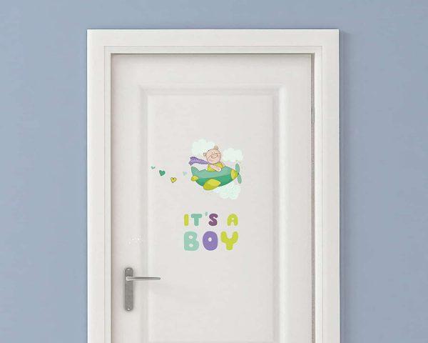 Ango 11002 - It's A Boy διακοσμητικά αυτοκόλλητα τοίχου XS μέγεθος