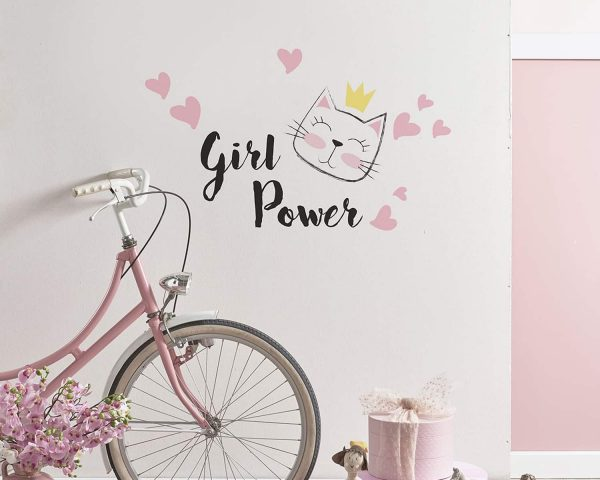 Ango 11106 - Girl Power διακοσμητικά αυτοκόλλητα με μήνυμα M