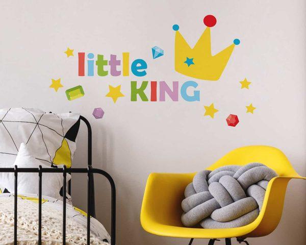 Ango 11107 - Little King διακοσμητικά αυτοκόλλητα με μήνυμα M