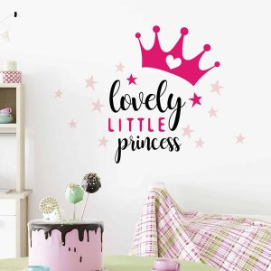 Ango 11109 - Lovely Princess διακοσμητικά αυτοκόλλητα με μήνυμα M