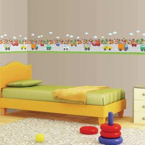 Ango 14007 - City μπορντούρα τοίχου αυτοκόλλητη
