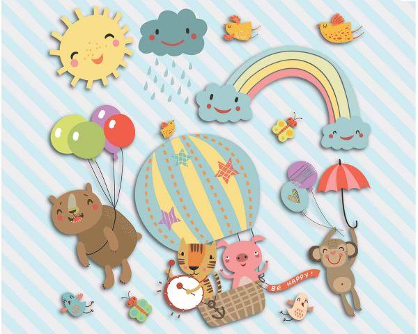 Καλωσορίστε το παιδί σας σε ένα δωμάτιο με απαλά χρώματα και σχέδια κατάλληλα για τα πρώτα του χρόνια. Προσαρμόστε τις διακοσμήσεις των τοίχων σας
