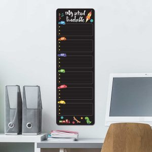 Ango 15204 - Blackboard Week Boy διακοσμητικά αυτοκόλλητα τοίχου ML μέγεθος