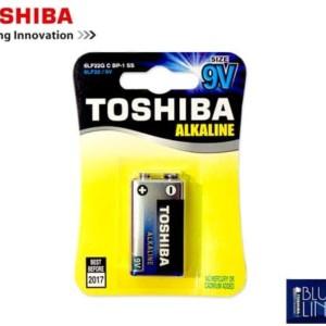 Μπαταρία TOSHIBA Αλκαλική Πλακέ 9V