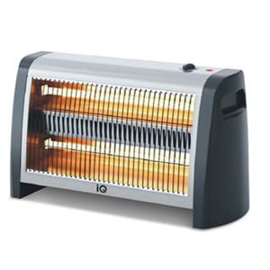 Θερμάστρα Χαλαζία-Quartz 1400W IQ HT-1417 με Θερμοστάτη και Ανεμιστήρα