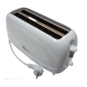 Φρυγανιέρα Λευκή 4 θέσεων 1000-1200W OSCAR CT-807