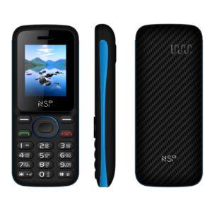 NSP 1800DS BLACK / BLUE (Ελληνικό Μενού) Κινητό τηλέφωνο Dual SIM με Bluetooth και οθόνη 1.8″