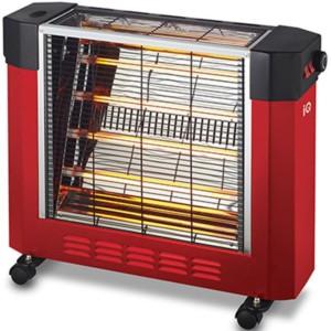 Θερμάστρα Χαλαζία-Quartz 2400W IQ HT-1477 Κόκκινη