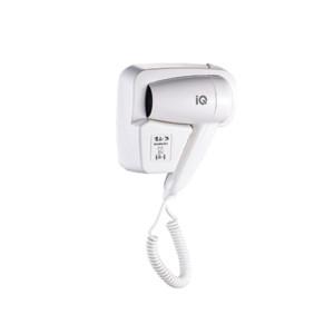 Σεσουάρ Μαλλιών IQ HO-801 1100W για Ξενοδοχεία με Πρίζα Επίτοιχο
