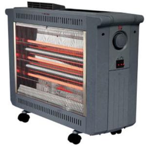 Σόμπα Χαλαζία-Quartz iQ 2400W HT-1471 με Θερμοστάτη και Ανεμιστήρα