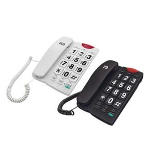 Τηλέφωνο Επιτραπέζιο με Μεγάλα Πλήκτρα IQ DT-836ΒΒ