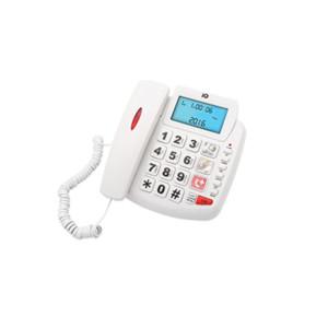 Τηλέφωνο Επιτραπέζιο IQ DT-891CID NEW με Αναγνώριση Κλήσης Λευκό