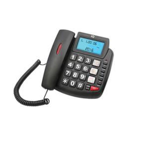 Τηλέφωνο Επιτραπέζιο IQ DT-891CID NEW με Αναγνώριση Κλήσης Μαύρο